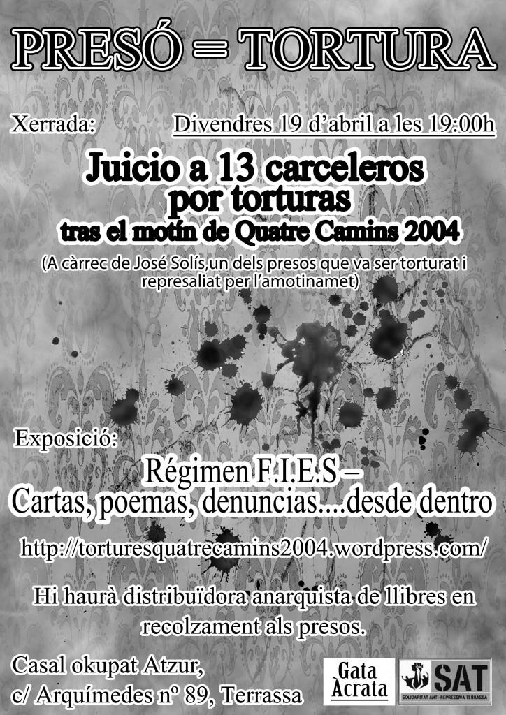 Preso = Tortura